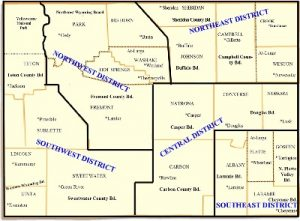 Wyoming District Map